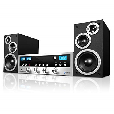 ❤ Cd Stereo System Bluetooth Home Speaker Innovative Technology Mp3 Fm Radio Aux