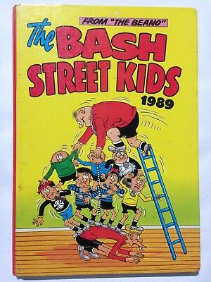 THE BASH STREET KIDS Annual 1989. Good Condition **Free UK Postage**