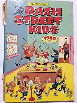 THE BASH STREET KIDS Annual 1980. Fair Condition **Free UK Postage**