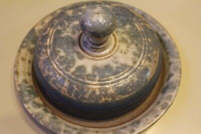 Diane Findley Pottery, Butter Dish with Lid Vintage Pottery Never Used