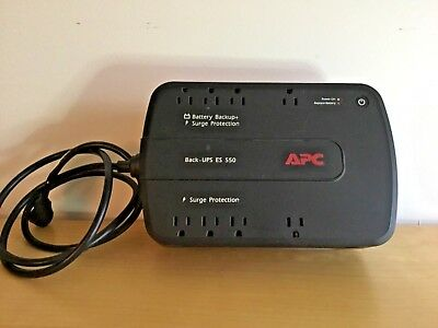 APC Back-UPS ES 550 BE550G Backup With Genuine Battery