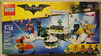 Lego Batman Movie and Justice League lot of 3 sets 70919 70900 41601 Brand New