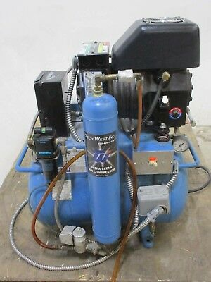 Tech West Ultra Clean Dental Compressor System for Operatory Air Pressure