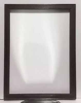 """Antique Arts and Crafts Mission OAK Picture Frame Fits 17 1/2"""" x 24"""""""