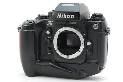 [ EXCELLENT++++ ] Nikon F4S 35mm SLR Film Camera Body w/MB-21 From Japan 157