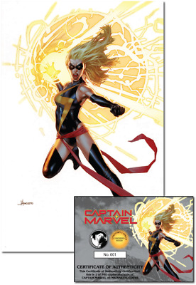Captain Marvel #1 Unknown Comic Books Exclusive Anacleto Ms Marvel 1/9/2019