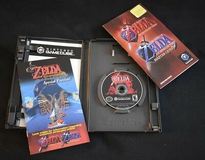 used Legend of Zelda Ocarina of Time Master Quest for the Nintendo Gamecube
