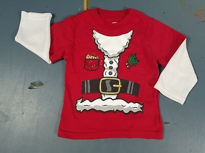 Christmas Santa T-Shirt Sz: 18 Months Cosplay Costume Tee New W/o Tags