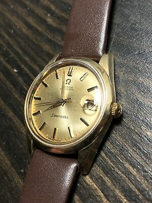 Vintage Omega Seamaster Calendar Stainless Automatic Black Dial Cal 565 Serviced
