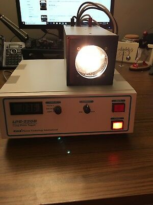 LPS-220B Lamp Power Supply And A-1010B Lamp Housing PTI Photon Technology Inter