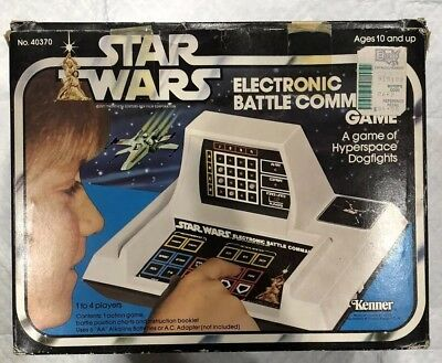 Vintage 1979 Kenner Star Wars Electronic Battle Command Game In Box Untested