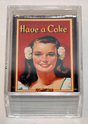 1994 Collect-A-Card Coca-Cola Series 3 Set - #201-300 - Shipped In Plastic Box