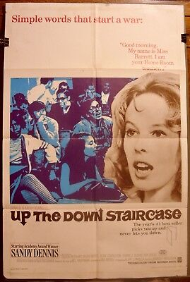 UP THE DOWN STAIRCASE (1967) 27x41 One Sheet - Sandy Dennis