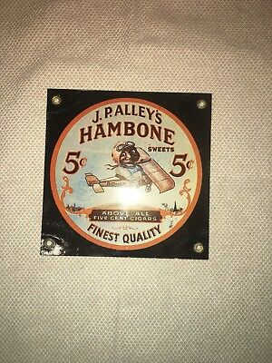 5 By 5.5 Inch Hambone Sign  New
