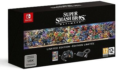 SUPER SMASH BROS. Ultimate Limited Edition - Nintendo Switch - IN HAND US Seller