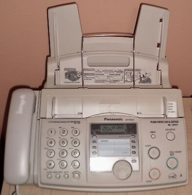 Panasonic Kx-Fhd331 Plain Paper Fax Machine Perfect Condition With Refill Roll