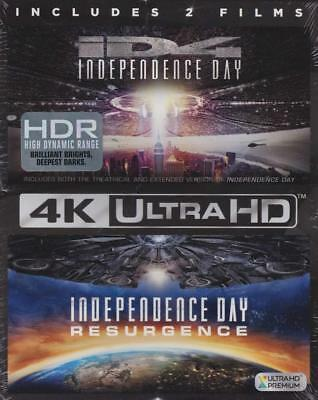 NEW Independence Day 2 Movie Collection Walmart Exclusive 4K + Bluray + Digital