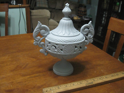 Antique Ornate Cast Iron Stove Finial, Vintage Refurbishing Restoration Tool