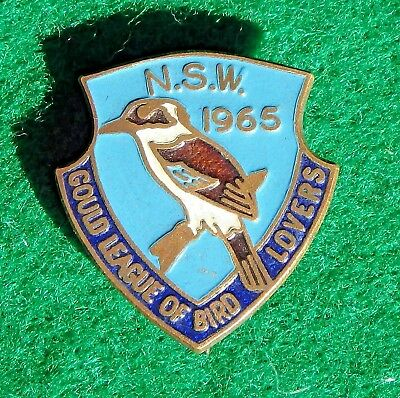 1965 Gould League Kookaburra Badge