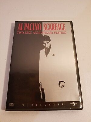 Al Pacino Scarface DVD 2-Disc Widescreen Anniversary Edition (DVD, 2003)