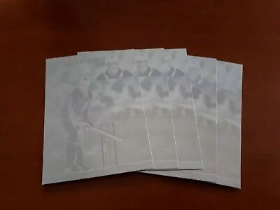 Futera 1994 Allan Border Hologram Cricket Cards x5 Excellent!