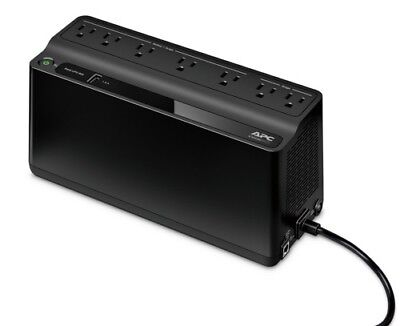 APC Back-UPS 600VA 7-Outlet and 1-USB Battery Backup (BE600M1)