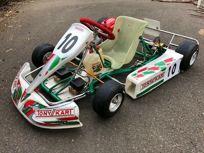 Cadet Go kart, Tony Kart Rocky chassis suit beginner up to 12 year old