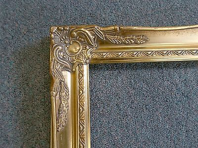 Picture Frame- 14x18 -Vintage Old Gold Antique Style Ornate Classic-678G