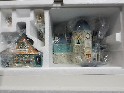 Dept 56 Seasons Bay - Original 6 Set of 6 houses - First Edition