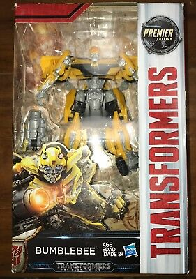 Hasbro TRANSFORMERS The Last Knight PREMIER EDITION BUMBLEBEE NEW SEALED