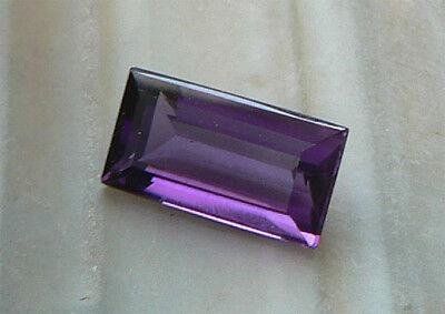 BAGUETTE (12,7 x 6,9 mm) Amethyst 3,45 ct