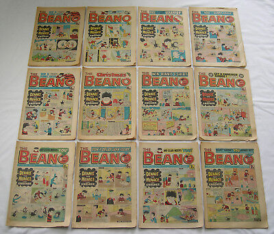 Six Beano Comics From 1978 As A Job Lot Vintage Collectibles