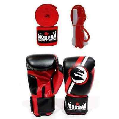 Morgan Classic Pack Training Pack Cardio Gloves Skipping Rope Hand Wraps