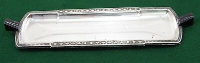 Vintage Stylish Art Deco Crusader Plate Electroplated Nickel Silver  Epns Tray