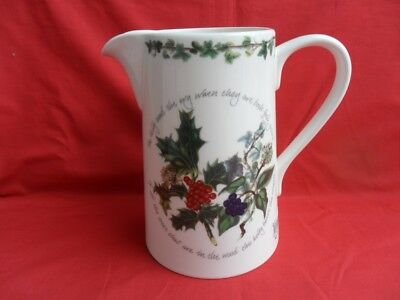 Portmeirion, The Holly and the Ivy Large Jug (Bella)