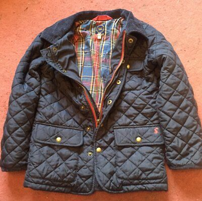 Joules quilted childrens coat age 8
