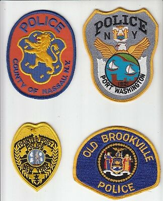 Police patches from State New York -5