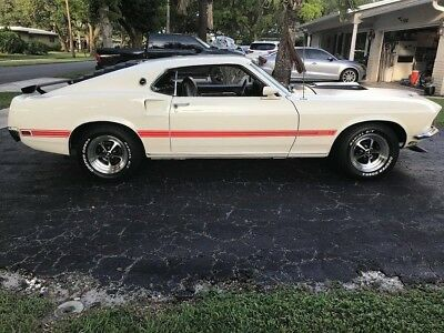 1969 Ford Mustang  1969 Ford Mustang Mach 1 Fastback Excellent/Mint Condition A Must See
