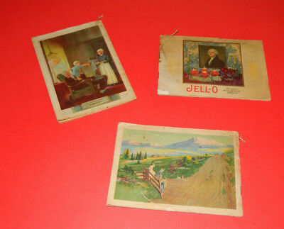 Vintage Jello Cookbooks 1924-1925  Lot of 3