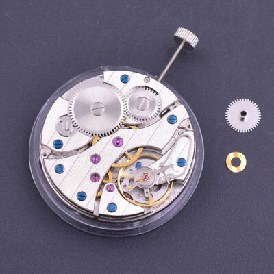 17 Jewels hand winding 6497 mens classic vintage watch Swan Neck movement