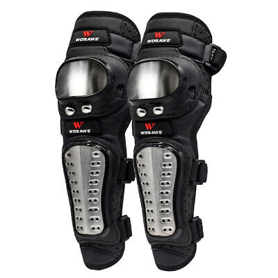 Adults Elbow Shin Armor Protector Guard Pads for Bike Motorcycle