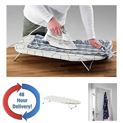 Ikea Mini Ironing Board Table Top Space Saving