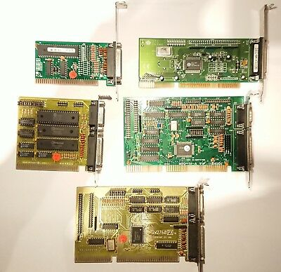 5x Controller ISA HDD FD SCSI Computer PC 386 486