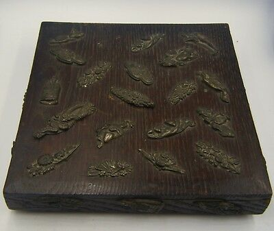 Antique C1900 Chinese - Japanese Artists or Jewellery Box With Buddhist Symbols!