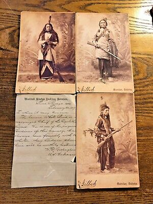 3 Photos from the United States Indian Service Agency NR