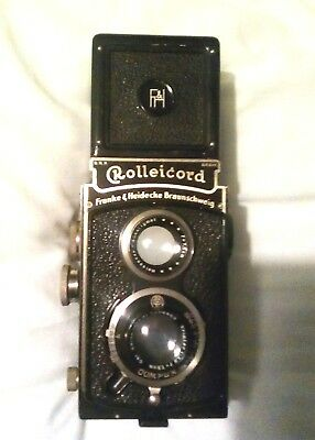 Rolleicord I Model 2-Model K3- 511 with Carl Zeiss Triotar 3.8/ 75mm 1934. Rare