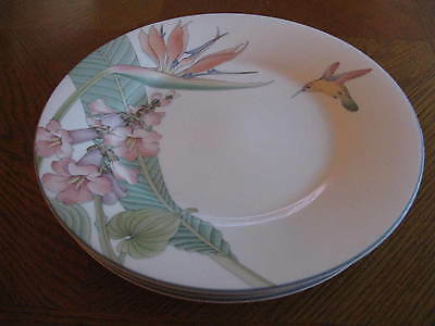 Set of 4 Noritake New Decade Salad Plates PACIFIC WINDS  #9420