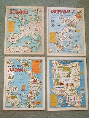 WW 2 Souvenir Maps
