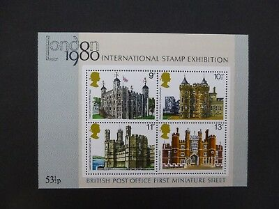 GB 1978 BRITISH POST OFFICE FIRST MINIATURE SHEET MS1058 - Architecture MNH