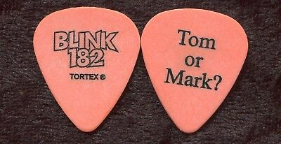 BLINK 182 2003 Concert Tour Guitar Pick!!! TOM DeLONGE custom stage Pick #5